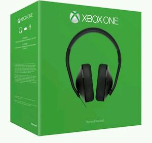 Xbox One Stereo Gaming Headset Microsoft XBOX ONE  MIC NOT