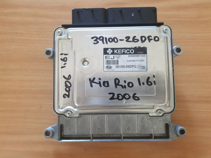 Kia Rio 1.6 CVVT 2005-2011 KEFICO ECU with part#39100-26DF0