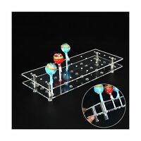 Mengcore 25 Hole Acrylic Cake Pop Lollipop Display Stand Holder For Weddings