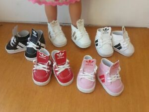 latest official store free shipping Details about Shoe basket montante adidas type doll the dears corolla paola  reina- show original title