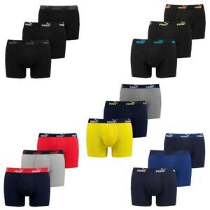 6 er Pack Puma Boxer Boxershorts Herren Unterwäsche sportliche Retro Pants
