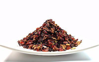 Strawberry Kiwi Fruit Herbal Tea loose leaf  tea 4  OZ