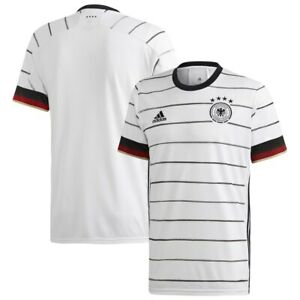 Details about adidas Germany UEFA Euro 2020 Home Soccer Jersey White / Black Brand New