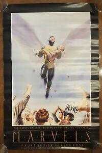 Vintage Plastic Man ALEX ROSS Poster 22 x 34 in Unused never prev displayed