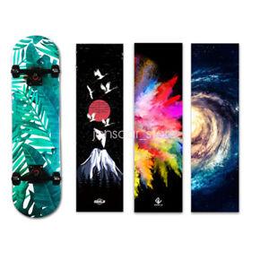 """New Style Wave Pattern Skateboard Sandpaper Waterproof Grip Tape Sticker 33*9/"""""""