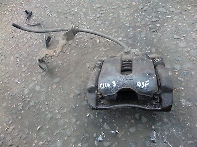RENAULT CLIO MK3 2010 1.2  DRIVERS SIDE O//S FRONT DRIVERS BRAKE CALIPER