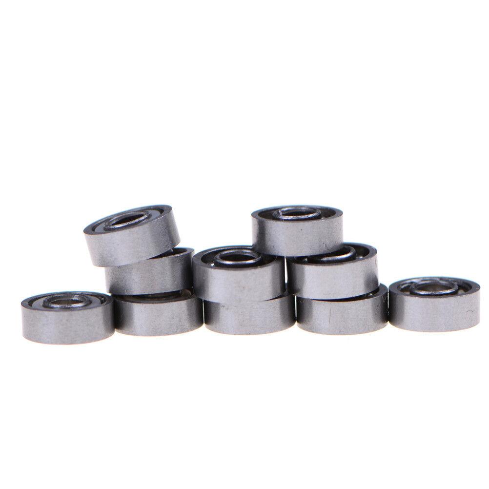 10pcs MR83 3x8x3mm Open Miniature Bearings ball Mini Hand Bearing Spinner BHCA