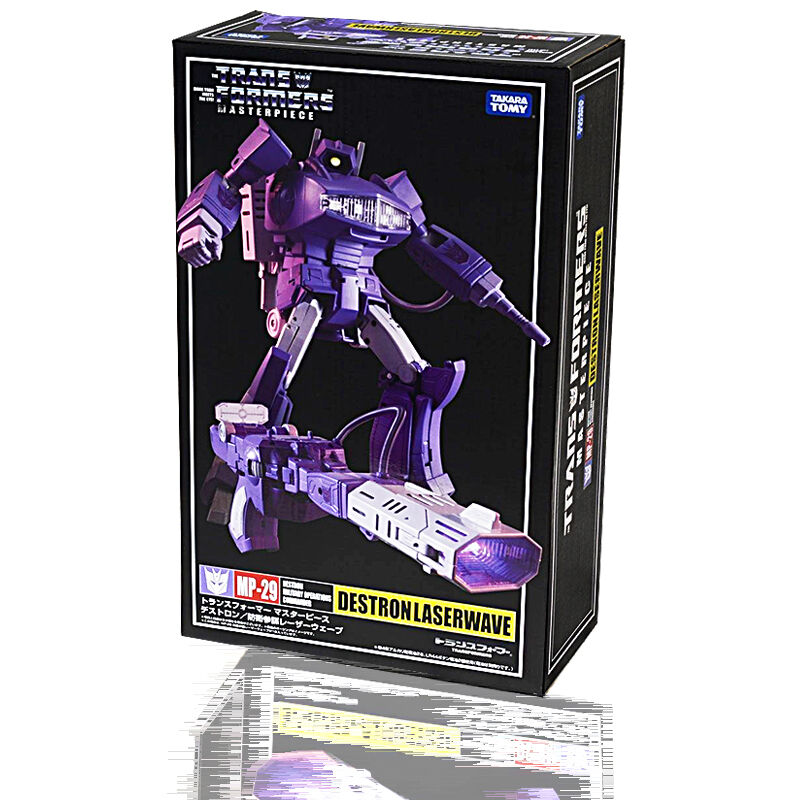 100% Autentico Takara Transformers MP29 capolavoro Shockwave Laserwave