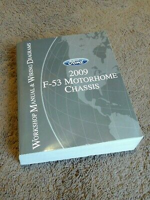 2009 Ford F 53 Motorhome Chassis Service Repair Shop Manual