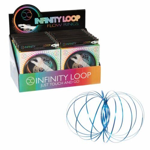 Infinity Loop Craze Kinetic printemps Slinky 3D Assortiment Kids Enfant Jouet Cadeau