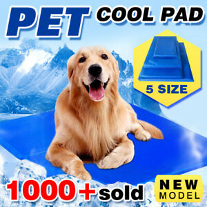 Pet-Cool-Gel-Mat-Dog-Cat-Bed-Non-Toxic-Cooling-Dog-Summer-Pad-5-Sizes-FAST-POST