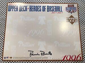 Upper Deck Autograph Sheet 1996 Robin Roberts Phillies All Star Game 8x10