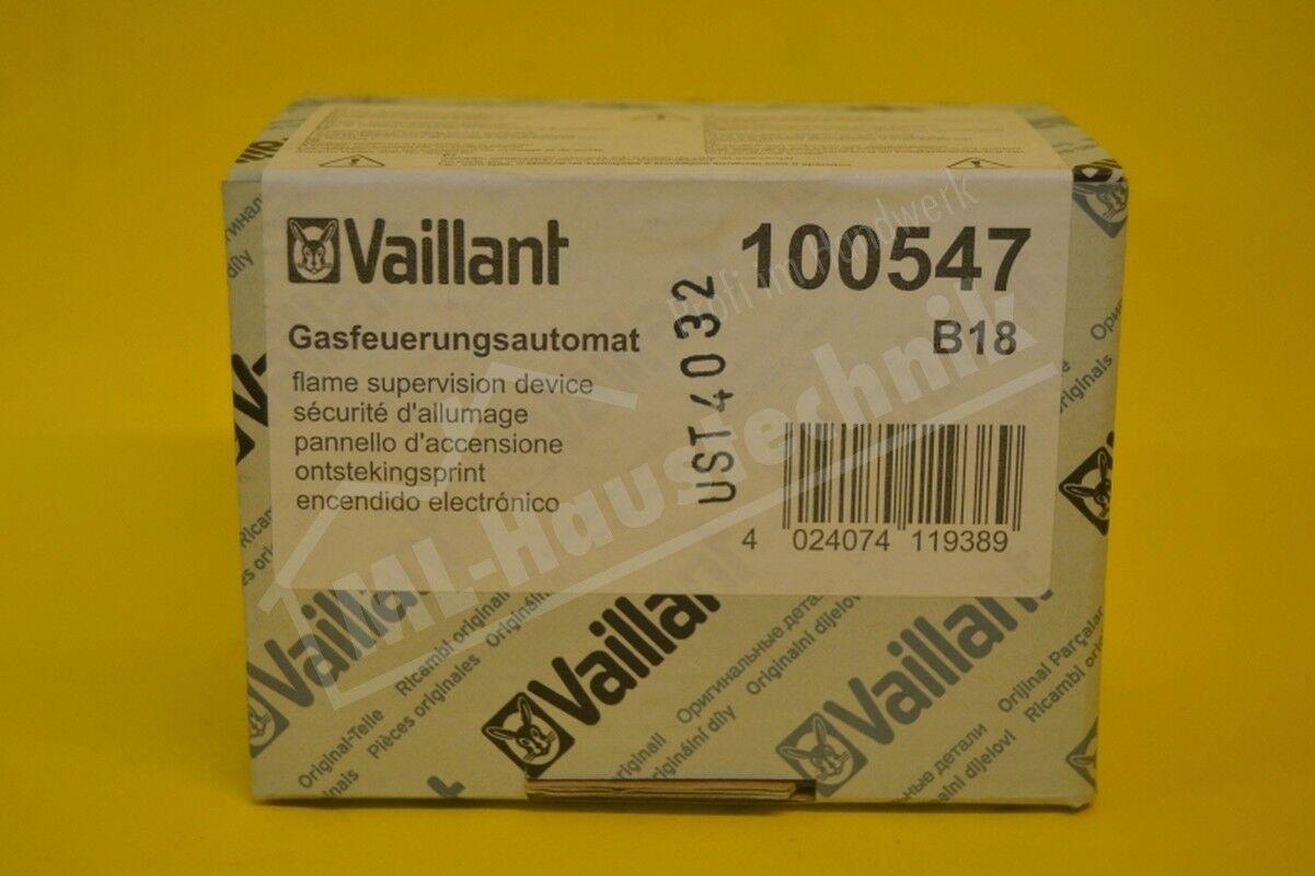 Vaillant Gasfeuerungsautomat Gasfeuerungsautomat Gasfeuerungsautomat 100547 VC , VCW Feuerungs Automat ac5399