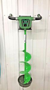 Ice-auger-steel-metal-hanger-bracket-fit-Jiffy-Eskimo-Strikemaster-Ion-Made-USA