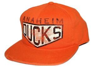 Anaheim-Ducks-Reebok-Vintage-Retro-Snapback-NHL-Hockey-Mighty-Ducks-Cap-Hat