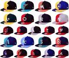 New Era MLB Authentic 9FIFTY Snapback Splitem Adjustable Fit Baseball Hat Cap