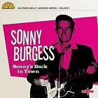 "Sonny Burgess Sonny's Back in Town 10"" Vinyl 10 Track Limited Edition Pink VIN"