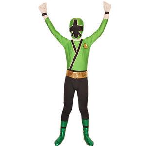 Image is loading Boys-Power-Rangers-Costume-Kids-Samurai-Cosplay-Child-  sc 1 st  eBay & Boys Power Rangers Costume Kids Samurai Cosplay Child Halloween ...