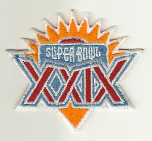 1995-Super-Bowl-XXIX-patch-SF-49ers-vs-SD-Chargers-SB-29-San-Francisco-Young-MVP