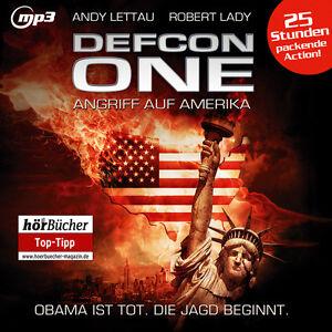 CD-Defcon-One-Angriff-auf-Amerika-Andy-Lettau-Robert-Lady-6-mp3-CDs-25-Std