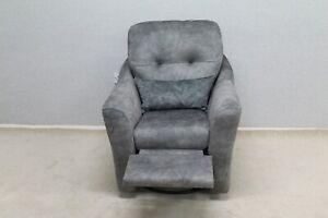 G-Plan-Flint-Grey-Fabric-Swivel-Chair-With-Power-Footrest