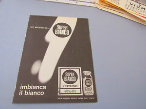 Publicidad-en-Pagina-Original-Anos-50-60-Advertising-Vintage-Super-Blanco