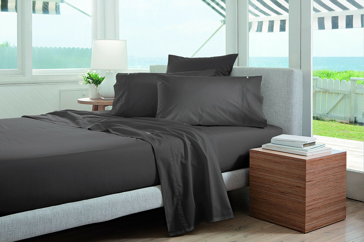 Sheridan Adkins 700TC Bed Sheet Set in Ash grau