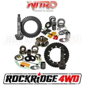 NITRO GEAR PACK for 91-97 Toyota LandCruiser 70/80 Series W/O E-Locker | 4.10 Ra