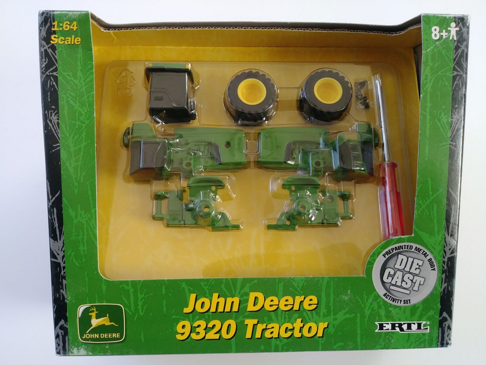 ERTL John Deere 9320 1 64 DIE CAST Activité Set REPLICA DE COLLECTION NEUF