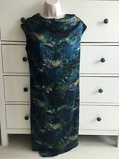 Yves Saint Laurent Ysl 100% Silk Exclusive Dress Size 34 (xs)