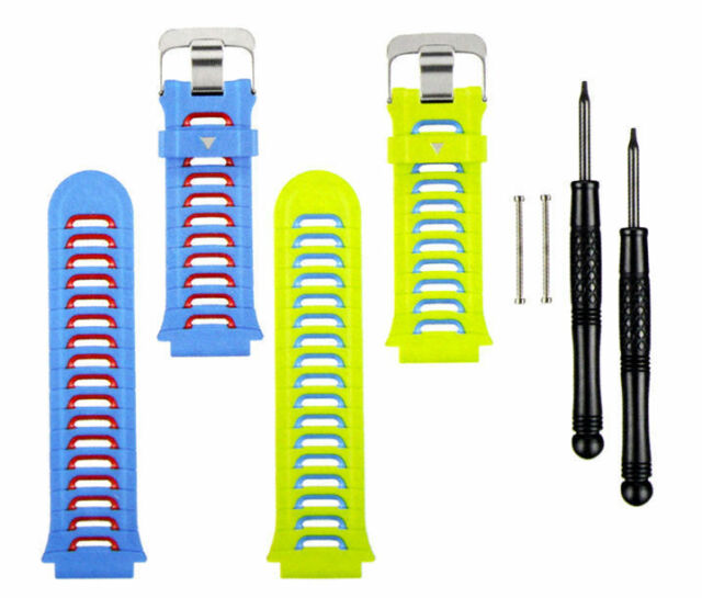 Garmin Forerunner 920XT replacement bands blue&green 010-11251-54