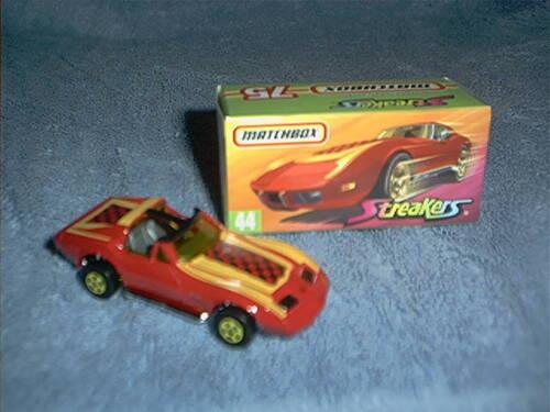 Matchbox /'76 Corvette Convertible T-Roof Pick your vehicle Loose