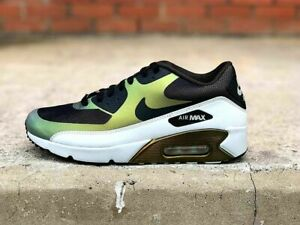 Details about Mens Nike Air Max 90 Ultra 2.0 Sneakers New, Pale Citron 876005 700 New in box