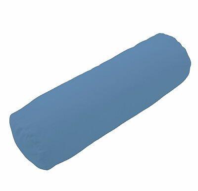 mp04g Bronze Brown Fold Pattern Shimmer Velvet Bolster Cover Neck Roll Yoga Case