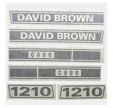 Sparex S63348 Decal David Brown 1210 Selectamatic