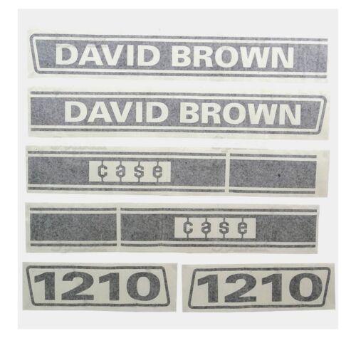 Sparex S.63348 Decal David Brown 1210 Selectamatic