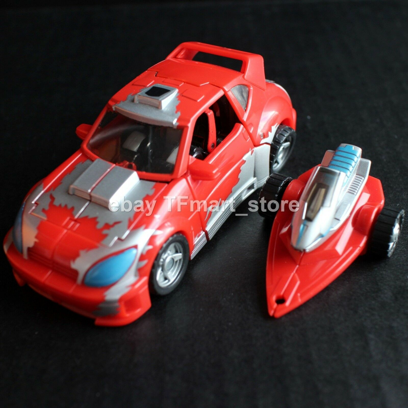Transformers Clásicos Clase de Lujo Cliffjumper By Hasbro Generations