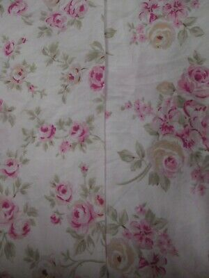 Rachel Ashwell Simply Shabby Chic Blush Beauty #2 Floral Cover Washable Reusable