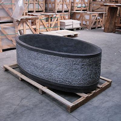"""Dampfbäder & -duschen Design Badewanne 2000x100x58cm Hoher Standard In QualitäT Und Hygiene Bad & Küche """"atlantis"""" Roh Gehämmert"""
