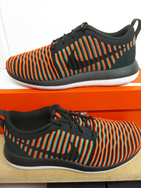 pretty nice 276f6 6f050 Nike Roshe Two Flyknit Mens Running Trainers 844833 003 Sneakers Shoes
