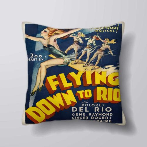 Flying circus Rio imprimé housses de coussin oreiller cas home decor ou intérieure