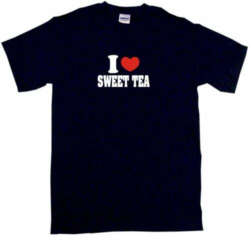 I Heart Love Sweet Tea Kids Tee Shirt Boys Girls Unisex 2T-XL