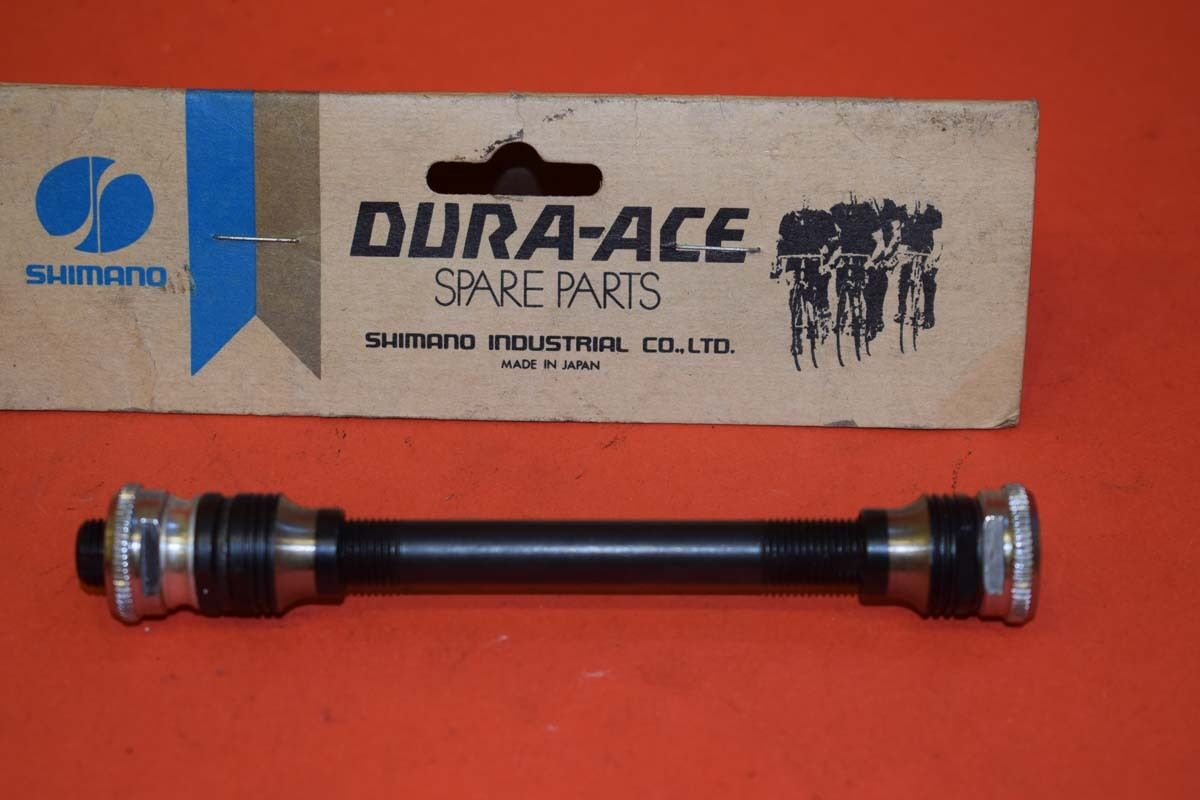 Shimano Dura  Ace rear hub axle spindle 120mm 87g 1970s vintage steel for QR NOS  for cheap