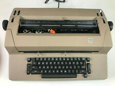 Vintage Ibm Selectric Ii Correcting Electric Typewriter Beige Tested Working