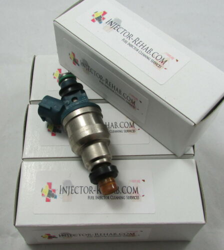 *Cleaned /& Flow Tested* Fuel Injector Set 4 Ford Mazda 2.0 INP-480 Probe 626