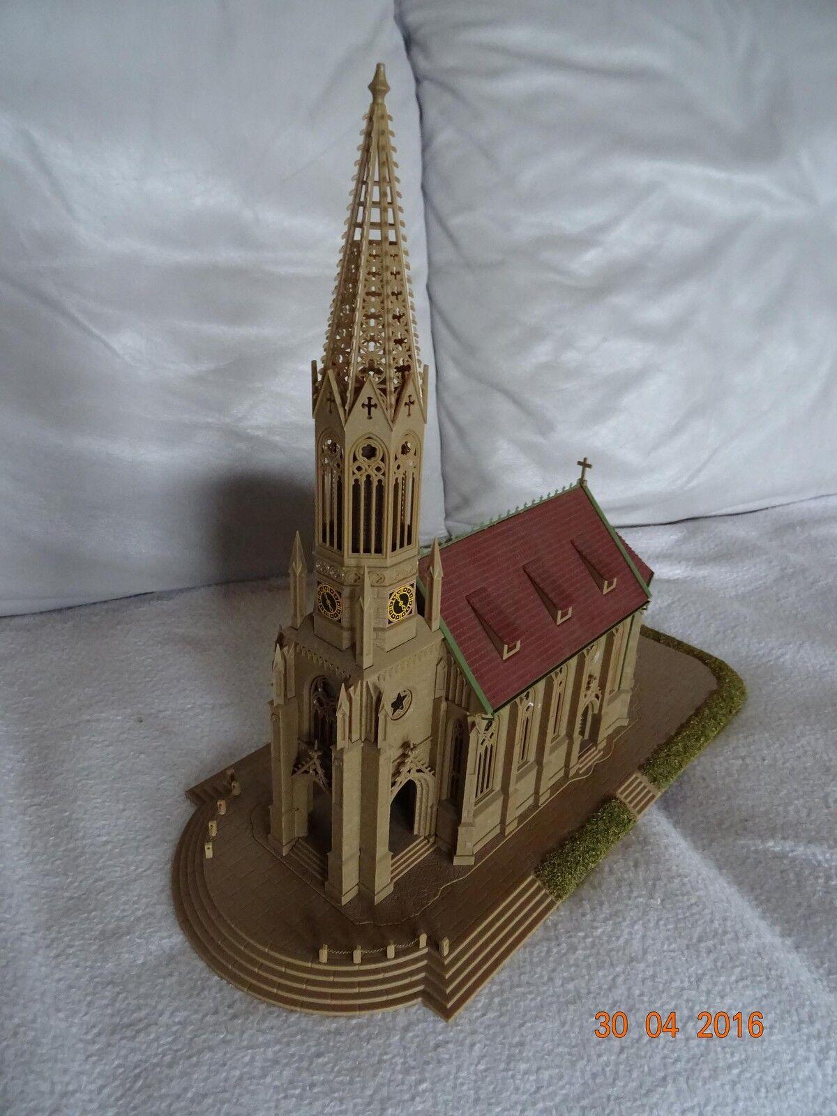 Vollmer H0 Stadtkirche Stuttgart Berg 3739 u.Freitreppe 3738      Glücklicher Startpunkt  474d89