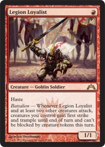 MTG x4 Legion Loyalist Gatecrash Rare Red Magic the Gathering NM M SKU