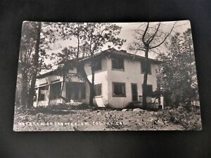 Colfax-California-Sanatorium-CA-RPPC-Real-Photo-Sacramento-Lake-Tahoe-Hospital