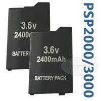 2pcs Battery For Sony PSP 2th, Silm, Lite, PSP-2000, PSP-3000, PSP-3004