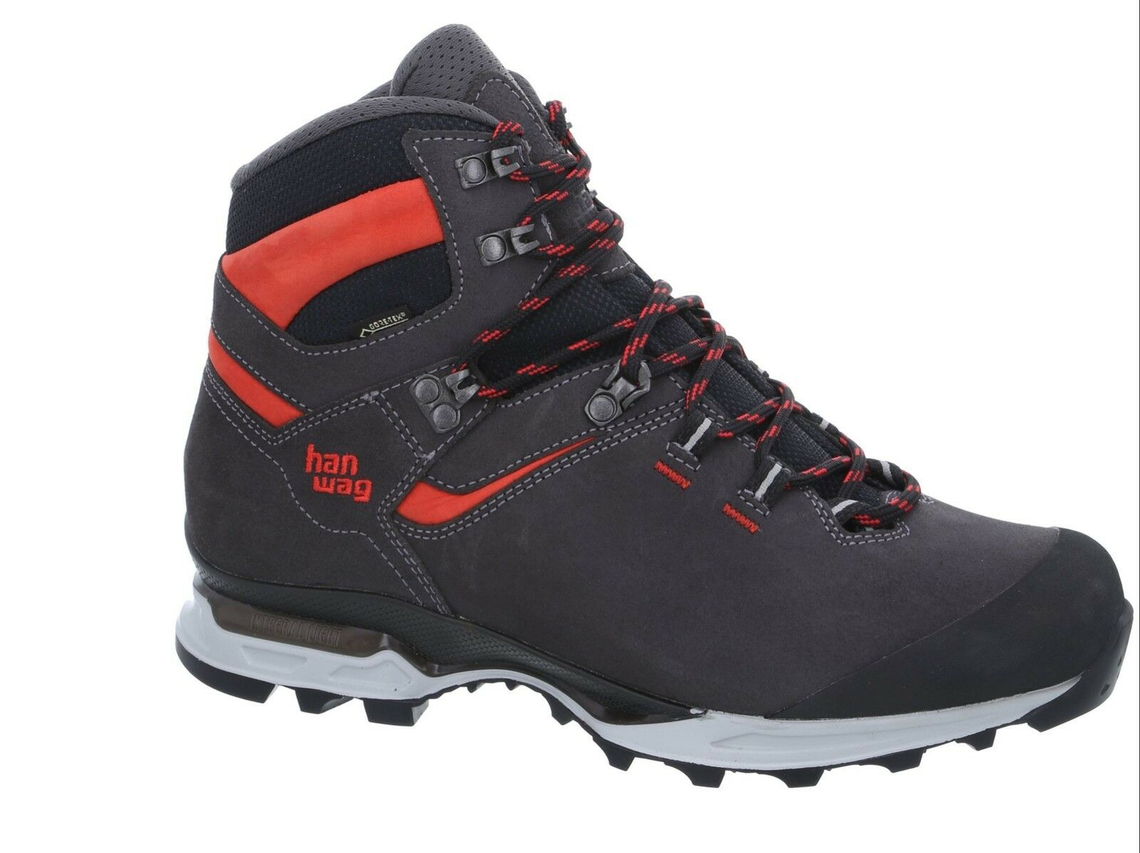 Hanwag Mountain shoes Tatra Light GTX Size 7,5 - 41,5 Asphalt -